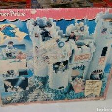 Juguetes antiguos y Juegos de colección: FISHER PRICE CASTILLO DE LAS AVENTURAS. NUEVO EN CAJA. 1994. COMPLETO. SIN JUGAR. CASTLE. FORTALEZA. Lote 229890540