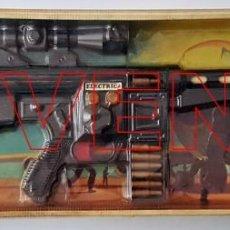 Juguetes antiguos y Juegos de colección: METRALLETA PERY MATIC OPERACION RESCATE 965 BARVAL. AÑOS 70'S - 80'S. Lote 230664490
