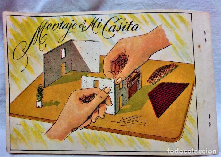 Juguetes antiguos y Juegos de colección: JUEGO MI CASITA,DE ENRIQUE BORRÁS.MEDIADO SIGLO XX.VER DESCRIPCIÓN Y FOTOGRAFIAS. - Foto 19 - 230747785
