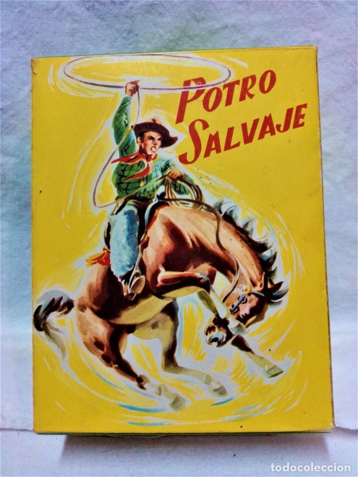 Juguetes antiguos y Juegos de colección: POTRO SALVAJE.DE JUGUETES PAYA.A CUERDA.EN FUNCIONAMIENTO.AÑOS 50.VER DESCRIPCIÓN Y FOTOGRAFIAS. - Foto 12 - 231210655