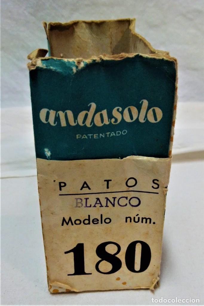 Juguetes antiguos y Juegos de colección: JUGUETE ANDASOLO DE GAMA.PATOS.MODELO 180.VER DESCRIPCIÓN Y FOTOGRAFIAS.AÑOS 50 - Foto 7 - 231797270
