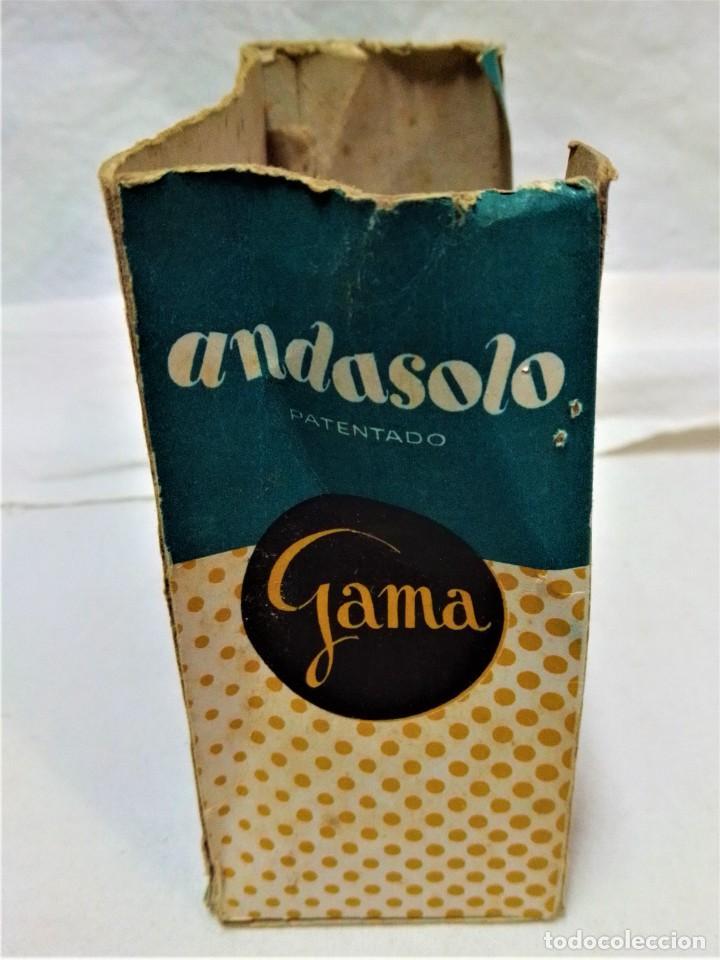 Juguetes antiguos y Juegos de colección: JUGUETE ANDASOLO DE GAMA.PATOS.MODELO 180.VER DESCRIPCIÓN Y FOTOGRAFIAS.AÑOS 50 - Foto 8 - 231797270
