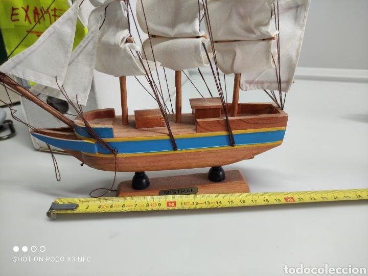 Juguetes antiguos y Juegos de colección: Barcos madera decoración - Foto 4 - 231971490