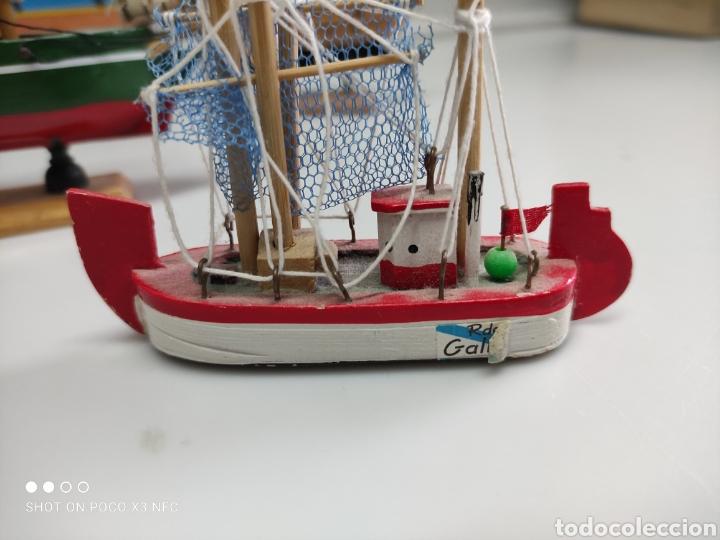 Juguetes antiguos y Juegos de colección: Barcos madera decoración - Foto 8 - 231971490