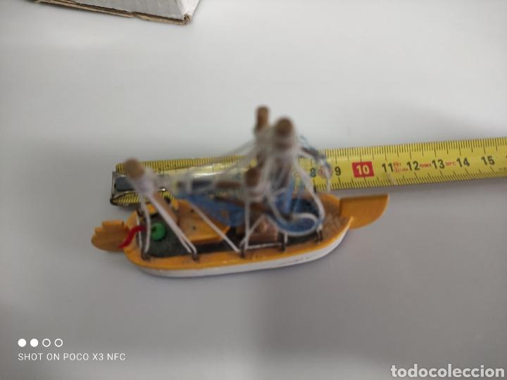 Juguetes antiguos y Juegos de colección: Barcos madera decoración - Foto 9 - 231971490