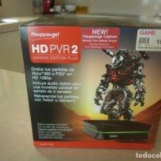 Juguetes antiguos y Juegos de colección: CAPTURADORA DE VIDEO - HD PVR 2 GAMING EDITION PLUS - PARA PLAYSTATION 2 - PLAYSTATION 3 Y XBOX 360. Lote 231984265