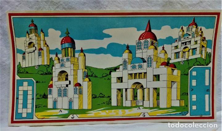 Juguetes antiguos y Juegos de colección: JUEGO ARQUITECTURA ORIENTAL.COMPLETO.PIEZAS DE MADERA.MEDIADOS S.XX - Foto 6 - 232859625