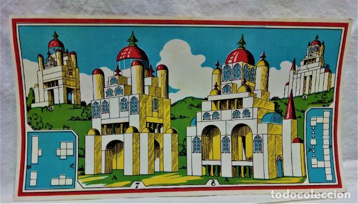 Juguetes antiguos y Juegos de colección: JUEGO ARQUITECTURA ORIENTAL.COMPLETO.PIEZAS DE MADERA.MEDIADOS S.XX - Foto 7 - 232859625