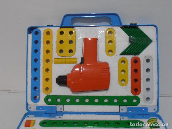 Juguetes antiguos y Juegos de colección: MALETIN MULTIHOBBY, HERRAMIENTAS, ESCOLAR FEBER, COMPLETO AÑOS 80 - Foto 5 - 232879560