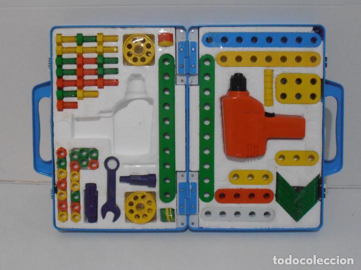 Juguetes antiguos y Juegos de colección: MALETIN MULTIHOBBY, HERRAMIENTAS, ESCOLAR FEBER, COMPLETO AÑOS 80 - Foto 6 - 232879560