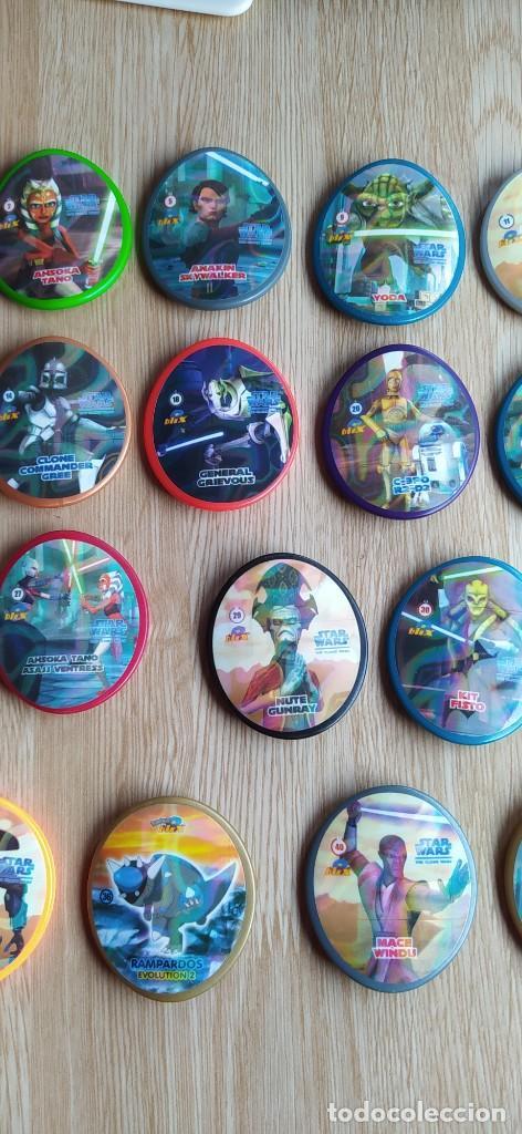 Juguetes antiguos y Juegos de colección: LOTE TAZOS BLIX STAR WARS - Foto 3 - 232980475