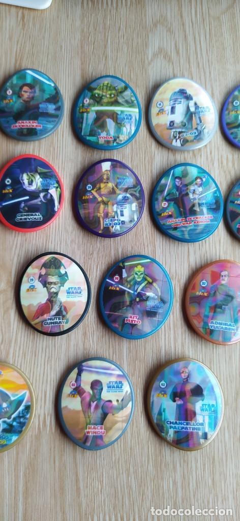 Juguetes antiguos y Juegos de colección: LOTE TAZOS BLIX STAR WARS - Foto 4 - 232980475