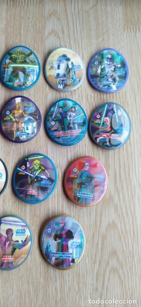 Juguetes antiguos y Juegos de colección: LOTE TAZOS BLIX STAR WARS - Foto 5 - 232980475