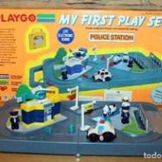 Juguetes antiguos y Juegos de colección: ESTACION DE POLICIA - POLICE STATION - MY FIRST PLAY SET - PLAYGO - NUEVO A ESTRENAR. Lote 233176690