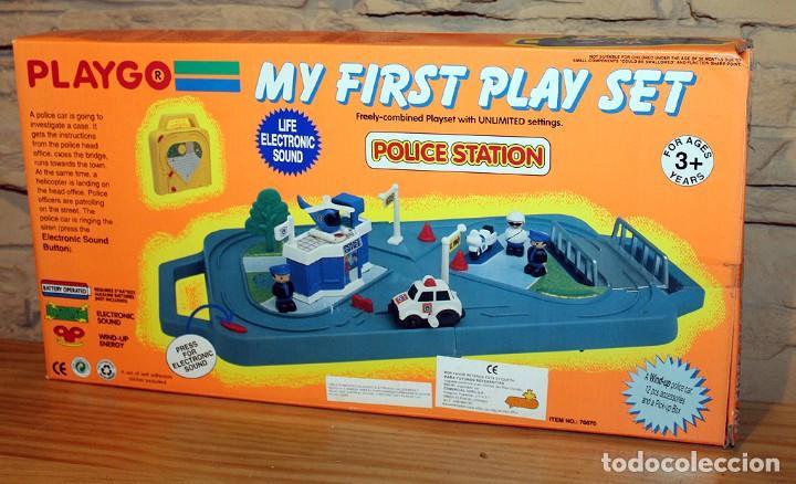 ESTACION DE POLICIA - POLICE STATION - MY FIRST PLAY SET - PLAYGO - NUEVO A ESTRENAR (Juguetes - Varios)