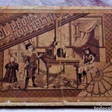 Juguetes antiguos y Juegos de colección: ANTIGUO JUEGO DE CONSTRUCCIÓN EL PEQUEÑO ARQUITECTO.PIEZAS DE MADERA.PRIMERA MITAD S.XX. Lote 233877485