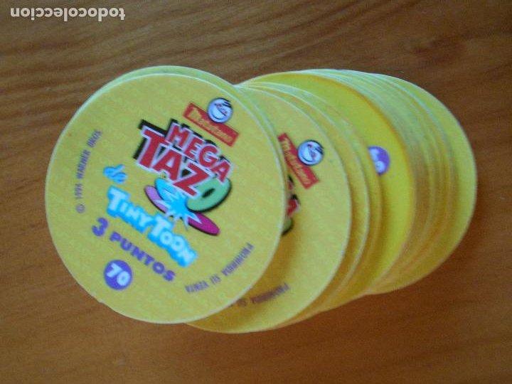 Juguetes antiguos y Juegos de colección: LOTE 15 MEGA TAZOS TINY TOON - 15 DE 20 - LOONEY TUNES - MATUTANO - WARNER (DC) - Foto 2 - 234932475