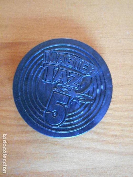 Juguetes antiguos y Juegos de colección: MASTER TAZO TINY TOON Nº 5 - NEGRO Y ROJO - MATUTANO - PORKY - LOONEY TUNES (N2) - Foto 2 - 234936895