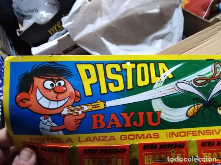 Juguetes antiguos y Juegos de colección: pistola pistolita lanza gomas bayju juguete kiosko baratija años 70 - Foto 3 - 235511255