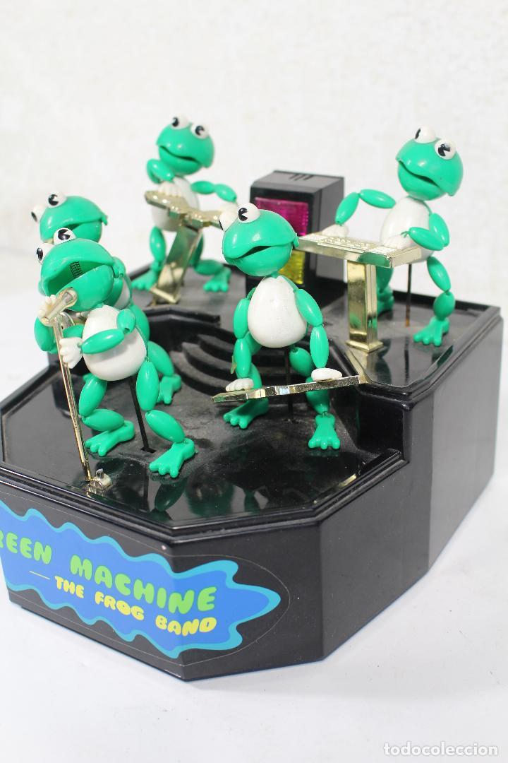 Juguetes antiguos y Juegos de colección: THE FROG BAND. GREEN MACHINE. LA BANDA DE LAS RANAS - Foto 3 - 268868314