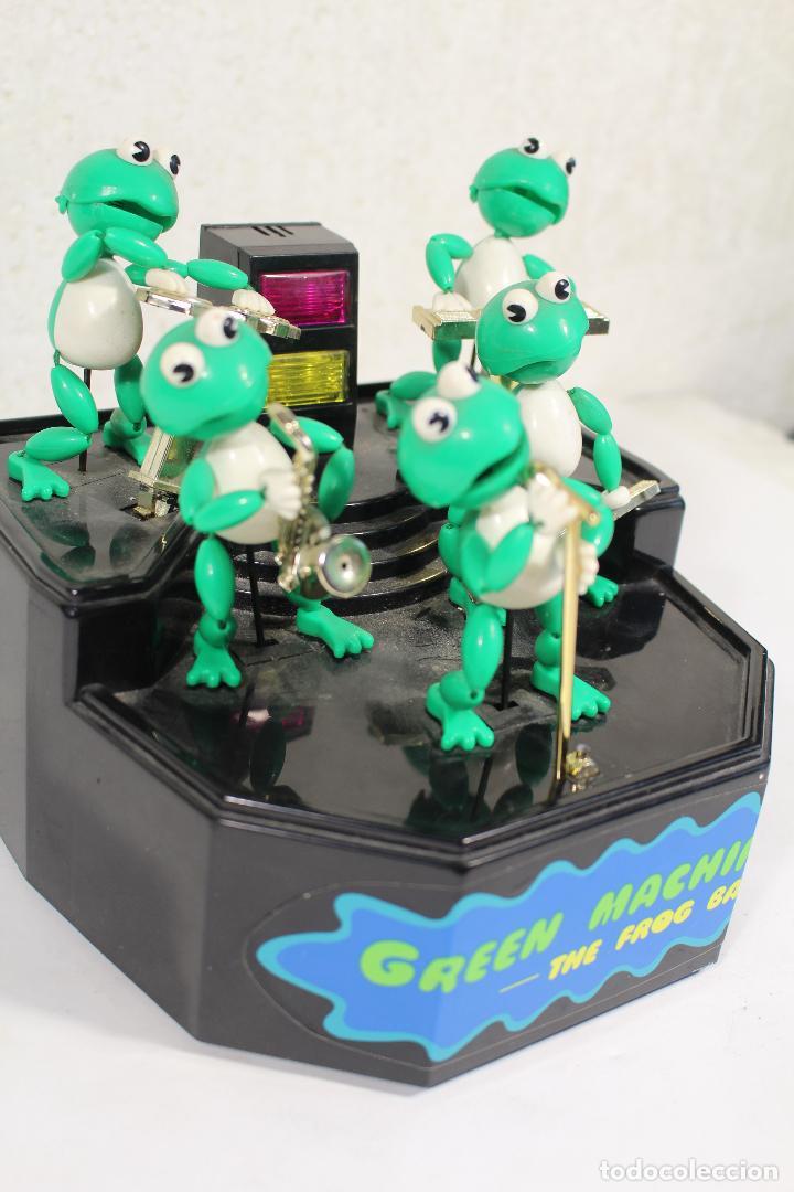 Juguetes antiguos y Juegos de colección: THE FROG BAND. GREEN MACHINE. LA BANDA DE LAS RANAS - Foto 5 - 268868314