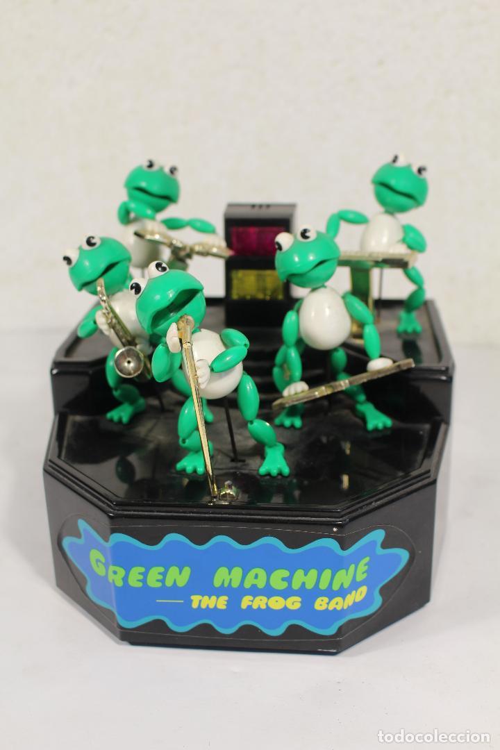 THE FROG BAND. GREEN MACHINE. LA BANDA DE LAS RANAS (Juguetes - Varios)