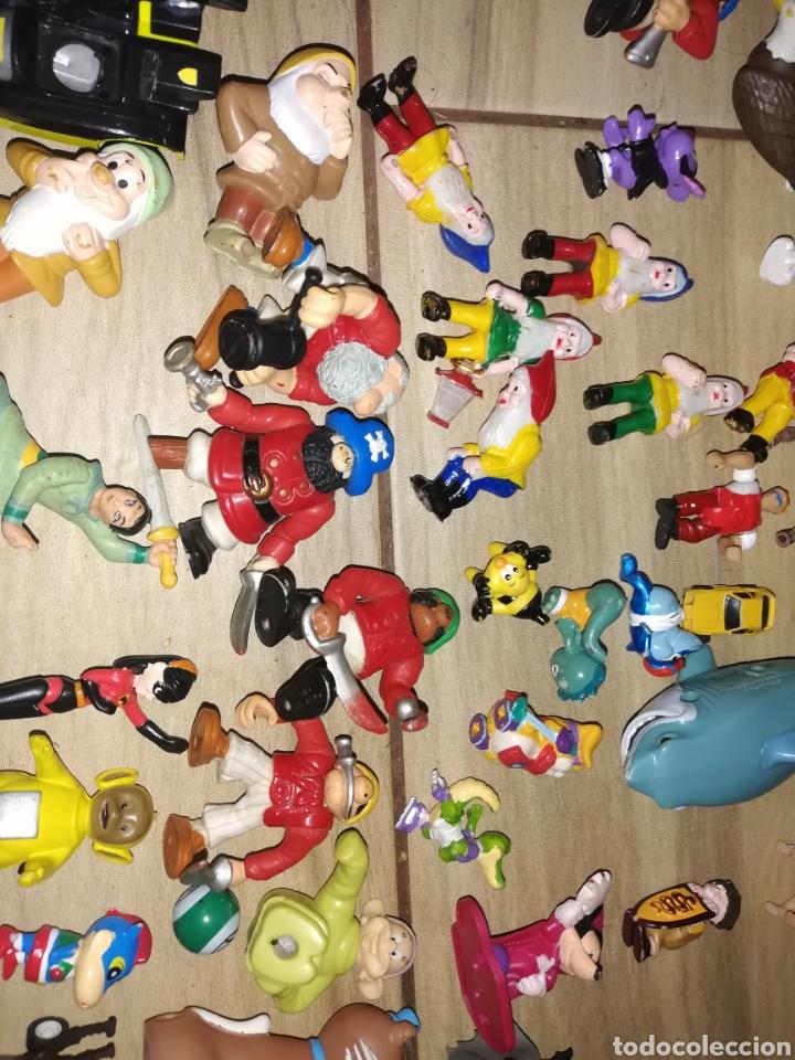 Juguetes antiguos y Juegos de colección: Lote de 44 figuras de goma y de marcas conocidas y piezas sueltas más de 60 no se a que pertenecen.. - Foto 15 - 238787130