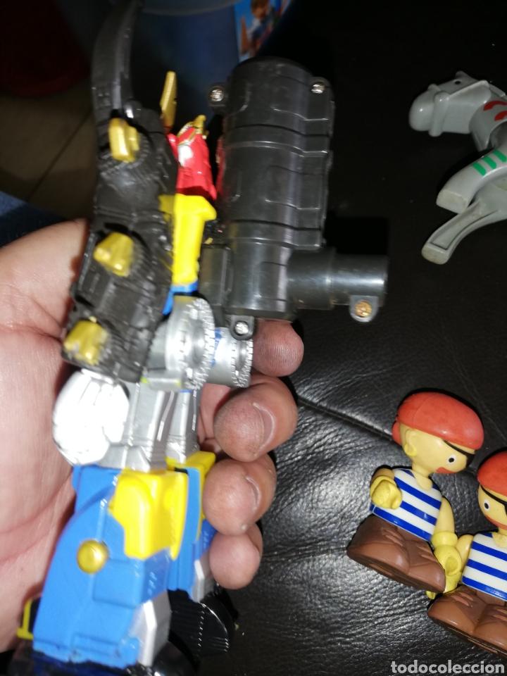 Juguetes antiguos y Juegos de colección: Lote de juguetes figuras varias marcas.. Piratas pvc Gozan.. Curro de goma Expo...leer descripción - Foto 5 - 238791615