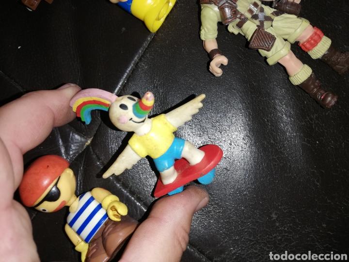 Juguetes antiguos y Juegos de colección: Lote de juguetes figuras varias marcas.. Piratas pvc Gozan.. Curro de goma Expo...leer descripción - Foto 7 - 238791615