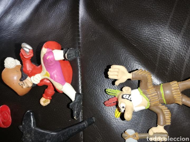 Juguetes antiguos y Juegos de colección: Lote de juguetes figuras varias marcas.. Piratas pvc Gozan.. Curro de goma Expo...leer descripción - Foto 10 - 238791615