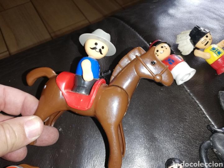 Juguetes antiguos y Juegos de colección: Lote de juguetes figuras varias marcas.. Piratas pvc Gozan.. Curro de goma Expo...leer descripción - Foto 11 - 238791615
