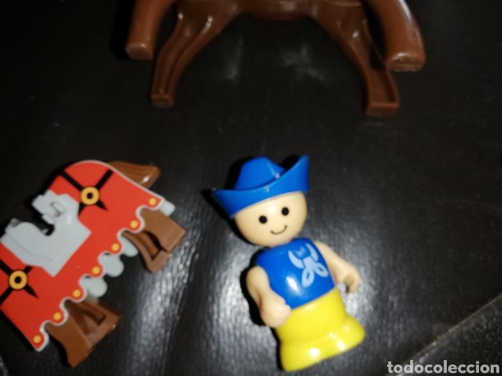 Juguetes antiguos y Juegos de colección: Lote de juguetes figuras varias marcas.. Piratas pvc Gozan.. Curro de goma Expo...leer descripción - Foto 16 - 238791615