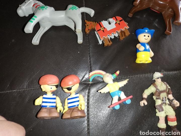 Juguetes antiguos y Juegos de colección: Lote de juguetes figuras varias marcas.. Piratas pvc Gozan.. Curro de goma Expo...leer descripción - Foto 20 - 238791615