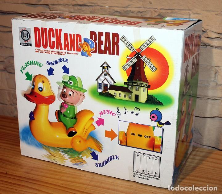Juguetes antiguos y Juegos de colección: DUCK AND BEAR - SALVAOSBSTACULOS - NUEVO Y EN SU CAJA ORIGINAL - FUNCIONANDO - Foto 5 - 240229490