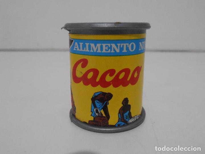 BOTE DE CACAO, CLARAMUNT, COCINITAS, COMIDITAS DE SUPERMERCADO, AÑOS 70 (Juguetes - Varios)