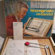 Juguetes antiguos y Juegos de colección: TECNIGRAFO INFANTIL TR-22. AÑOS 60. Lote 240747300