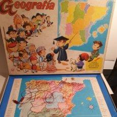Juguetes antiguos y Juegos de colección: GEOGRAFIA. JUGUETE ELECTRÓNICO PEDAGOGICO. MARCA PSE. REF. 1001.. Lote 240747855