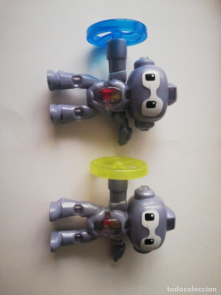 LOTE DE MUÑECOS PROMOCIONALES MACDONALD'S: ROBOTS. (Juguetes - Varios)