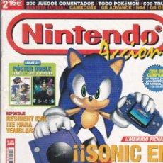 Juguetes antiguos y Juegos de colección: NINTENDO EN ACCION REVISTA OFICIAL Nº 115 JUNIO 2002. Lote 241678915
