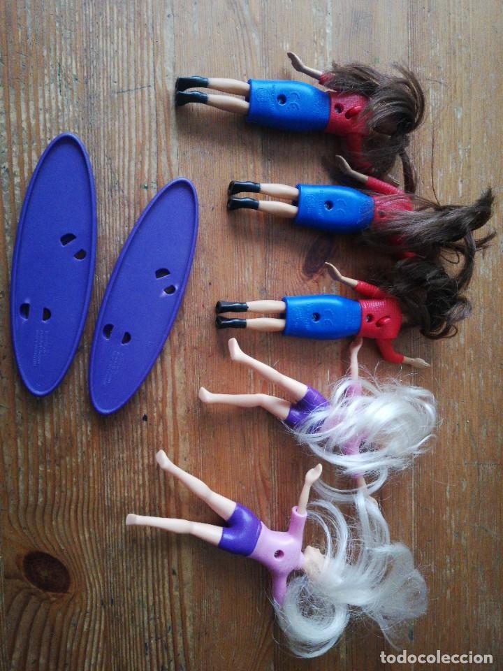 Juguetes antiguos y Juegos de colección: Lote de juguetes promocionales Burger King: Barbie - Foto 2 - 241907285