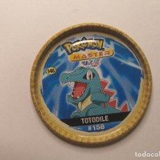 Brinquedos antigos e Jogos de coleção: TAZO POKEMON -- AÑO 2006 -- POKEMON MASTER -- METALICO -- CHIPICAO - ESPAÑA -- Nº 146. Lote 243538170