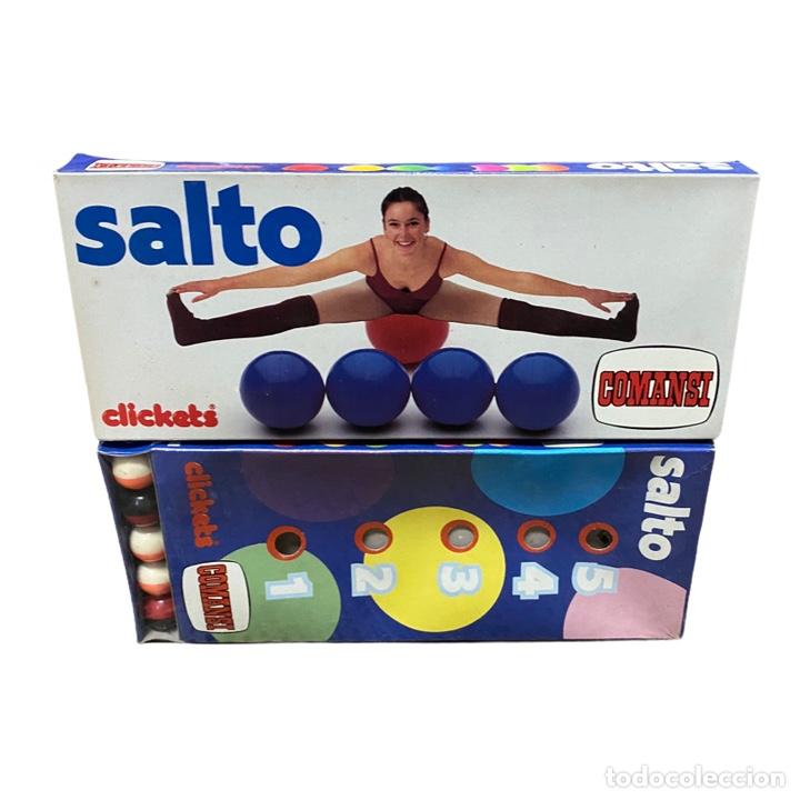 Juguetes antiguos y Juegos de colección: Juego Salto Clickets COMANSI Nuevo - Foto 2 - 243690330