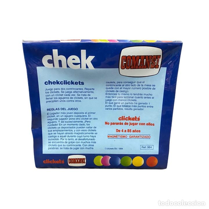 Juguetes antiguos y Juegos de colección: Juego Chek Clickets COMANSI Nuevo - Foto 3 - 243690345
