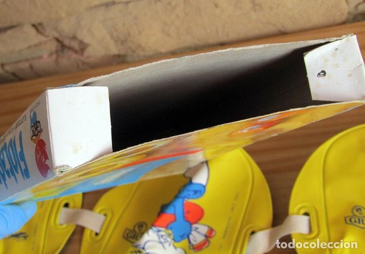 Juguetes antiguos y Juegos de colección: ANTIGUO FLOTADOR DE LOS PITUFOS - GRE - AÑOS 80 - NUEVO A ESTRENAR - EN SU CAJA ORIGINAL - Foto 4 - 243879255