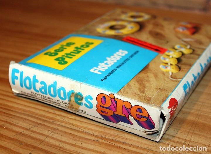 Juguetes antiguos y Juegos de colección: ANTIGUO FLOTADOR DE LOS PITUFOS - GRE - AÑOS 80 - NUEVO A ESTRENAR - EN SU CAJA ORIGINAL - Foto 6 - 243966720