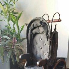 Juguetes antiguos y Juegos de colección: CARRITO ANTIGUO DE MUÑECA DE PORCELANA PRINCIPIO S.XX NO ES REPRODUCCIÓN. Lote 246081430