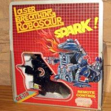 Brinquedos antigos e Jogos de coleção: LASER BREATHING ROBOSAUR - ROBOT ROBOSAURIO GODZILLA - AÑOS 80 - NUEVO Y EN SU CAJA. Lote 246172475
