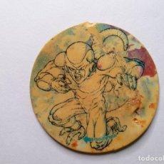 Juguetes antiguos y Juegos de colección: TAZO DRAGON BALL - MATUTANO 1989 -- MARRON - VOLADOR -- Nº 1. Lote 247489375