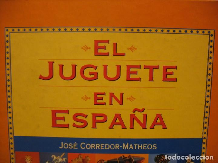 LIBRO EL JUGUETE EN ESPAÑA (Juguetes - Varios)