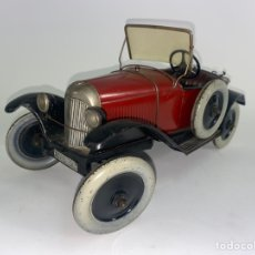 Juguetes antiguos y Juegos de colección: *COCHE DE LATA FORD AUTOMOBILE MECANIQUE. FRANCE.. Lote 252349030